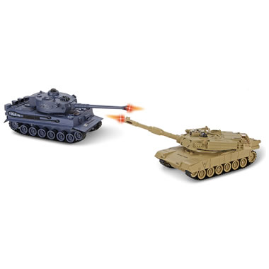 The RC Battling Tanks