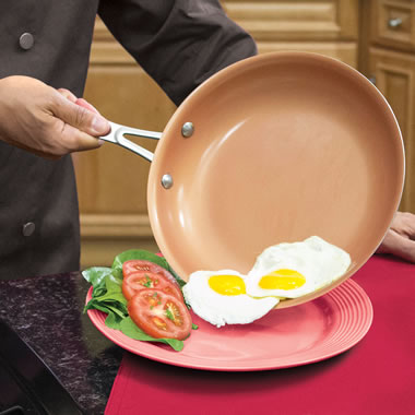 The Titanium Ceramic Nonstick Pan Set