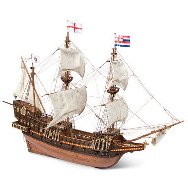 The Golden Hind Model Kit