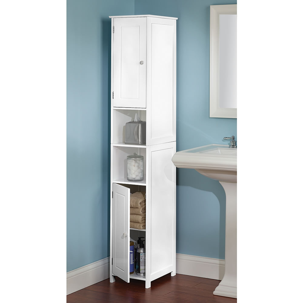 The Tight Space Storage Cabinet Hammacher Schlemmer