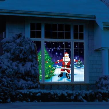 The Holiday Window Scene Animator