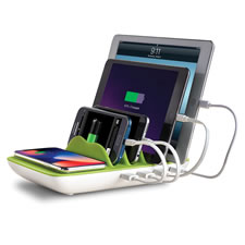 The Five Device Charging Station