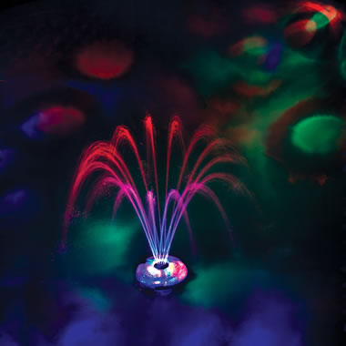 The 3 1/2' High Lightshow Floating Fountain