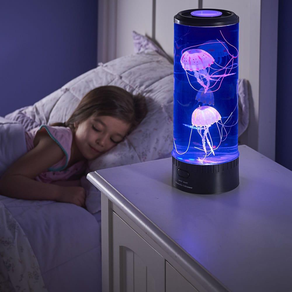 The Hypnotic Jellyfish Aquarium Hammacher Schlemmer