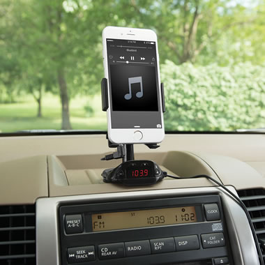 Bluetooth Phone Charging Mount