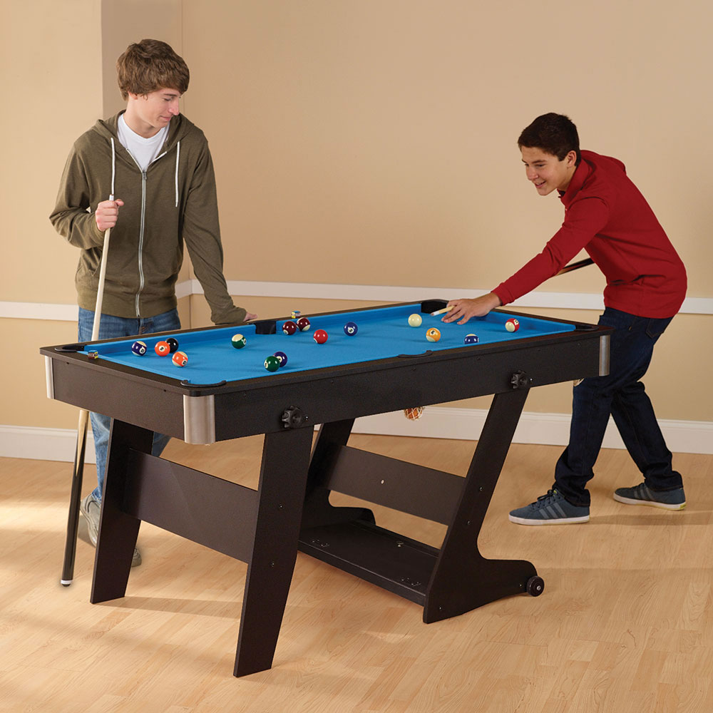The Foldaway Pool Table
