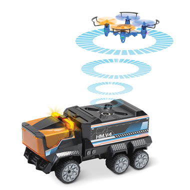The RC Truck Tracking Drone