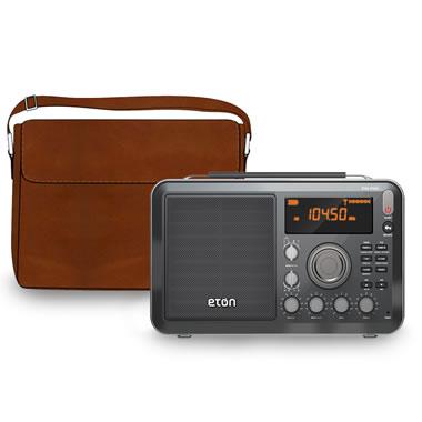 The Portable Shortwave World Radio With Waterproof Satchel