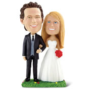 The Personalized Happy Couple Bobblehead