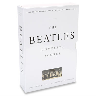 The Beatles' Complete Scores.