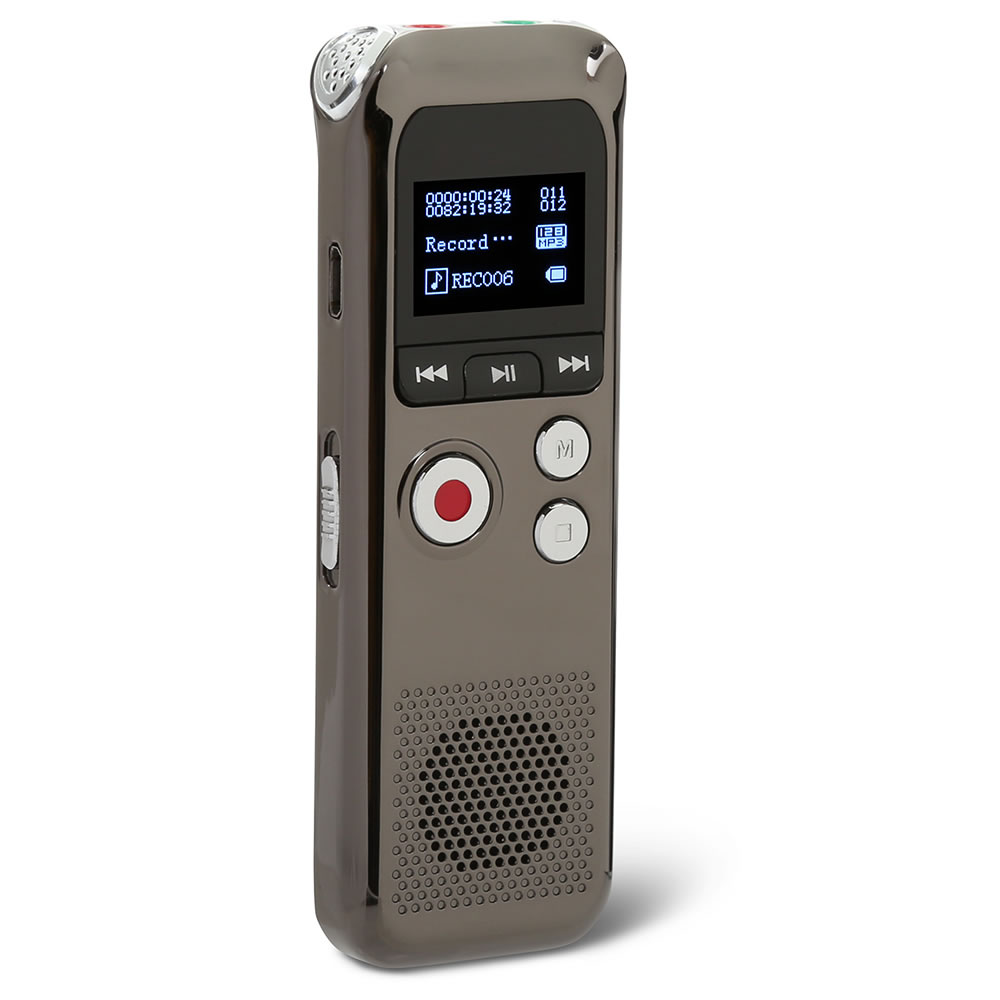 the up to 48 hour voice recorder hammacher schlemmer