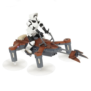 Star Wars 74-Z Speeder Space Drone/Game