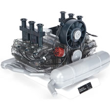The Porsche 911 Working Model Engine