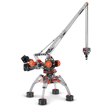 The Motorized Erector Set