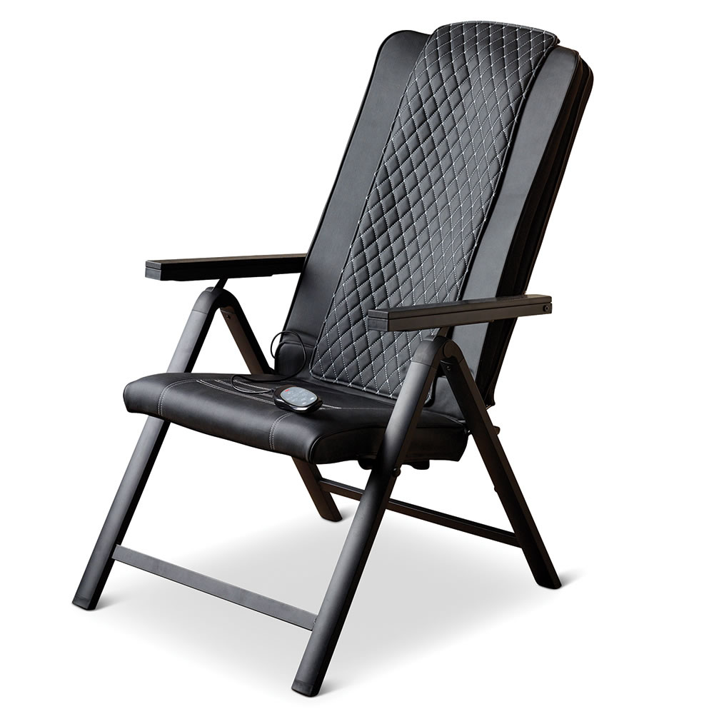 the folding massage chair hammacher schlemmer