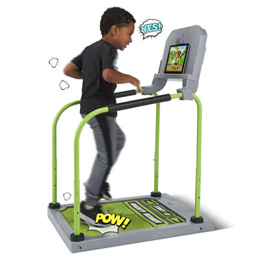 The Run, Jump, And Dance Interactive Gaming System