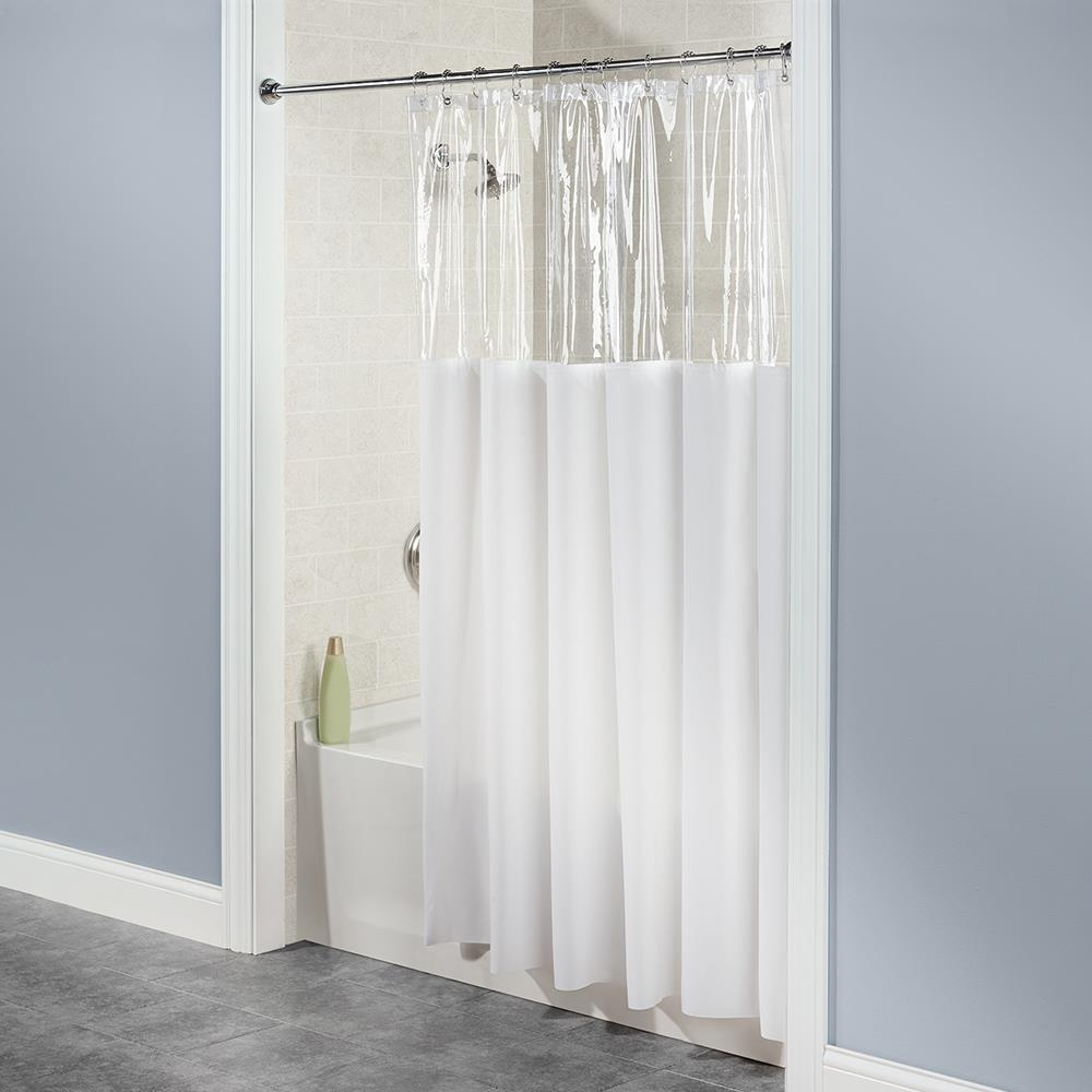 The Anti-Microbial Shower Curtain - Hammacher Schlemmer