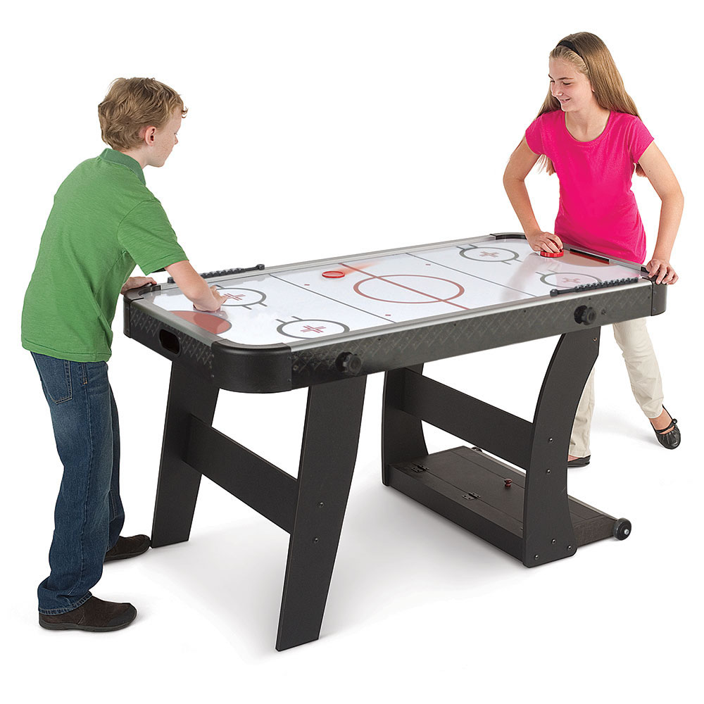 The Foldaway Air Hockey Table