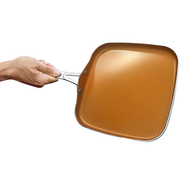 The Scratchproof Nonstick Griddle.