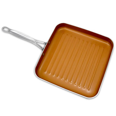 The Scratchproof Nonstick Grill Pan
