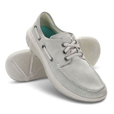 The Knee Pain Relieving Suede Deck Shoes