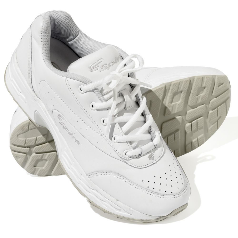 a2456e2001b2 The Spring Loaded Walking Shoes (Women s) - Hammacher Schlemmer