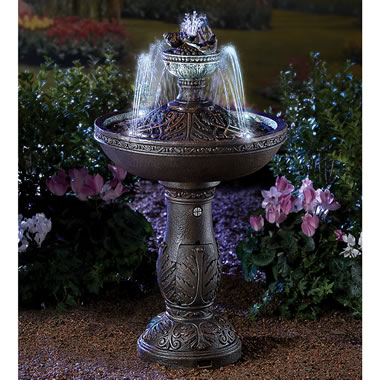 The Illuminated Dancing Water Fountain