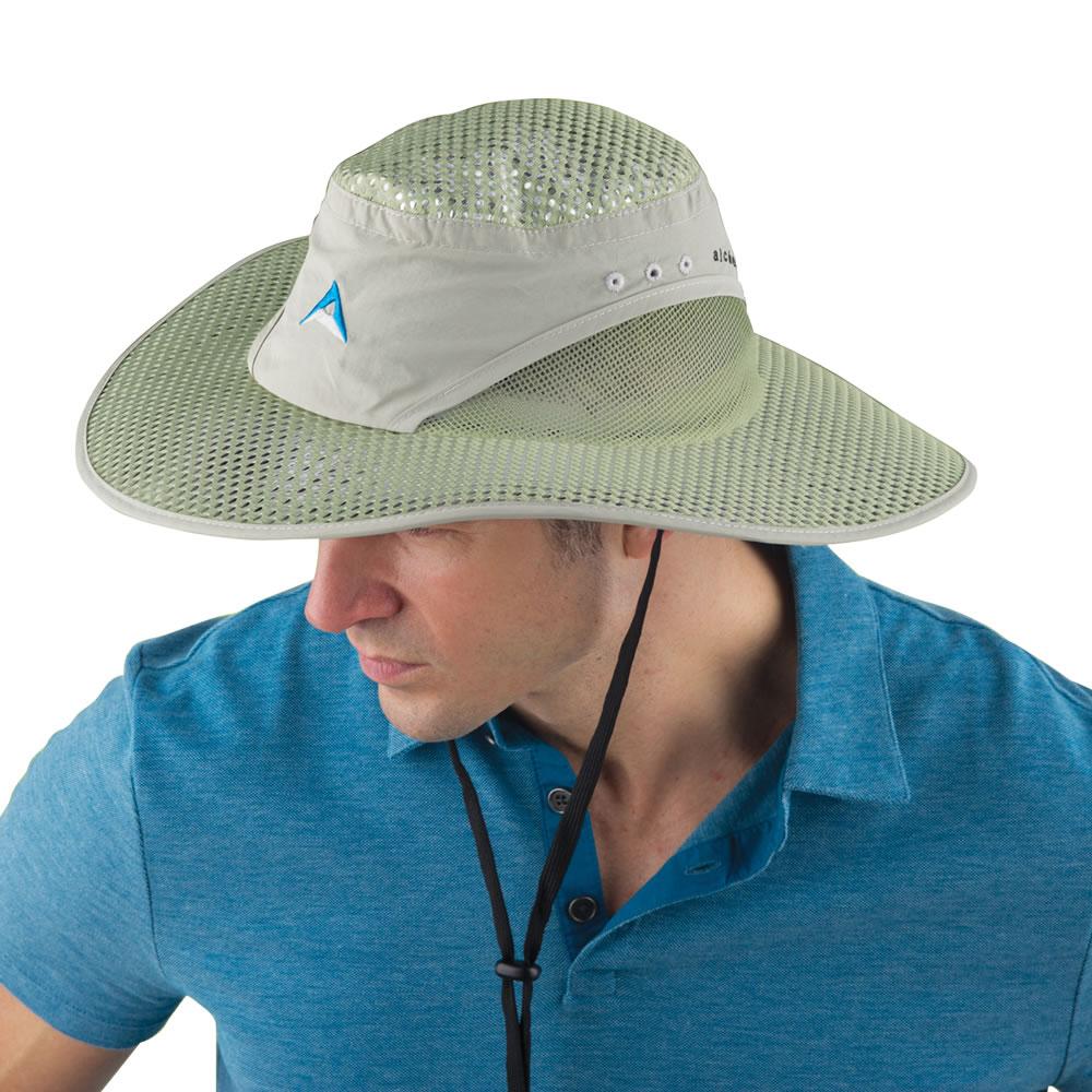 147e1b0acf77f The NASA Strength Sun Hat - Hammacher Schlemmer