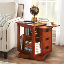 The Rotating End Table