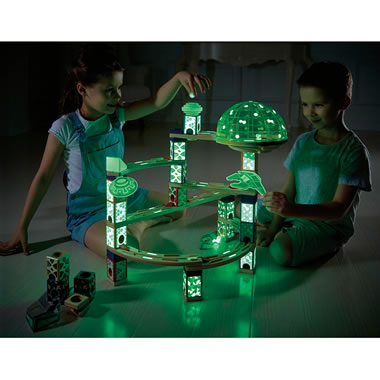 Award Winning Glow In Dark Kinetic Marble Run