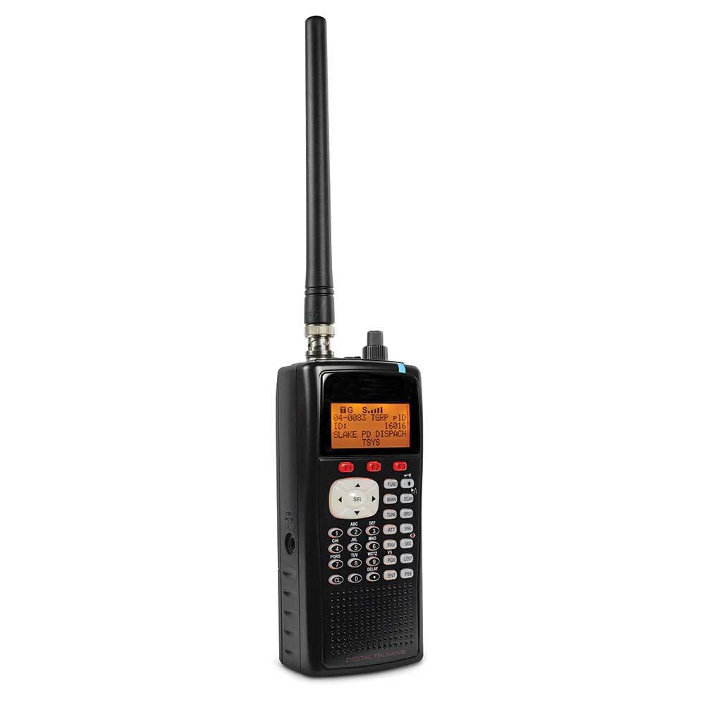 The Portable Police Scanner Radio Hammacher Schlemmer
