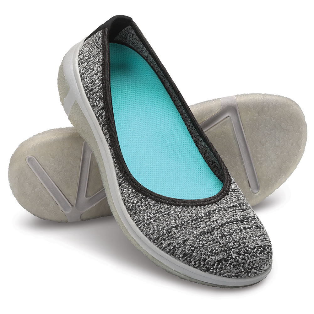 The Lady S Knee Pain Relieving Slip On Flats