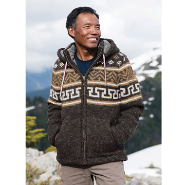 The Authentic Nepalese Sherpa Sweater