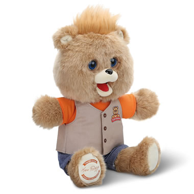The Newly Animated Teddy Ruxpin.
