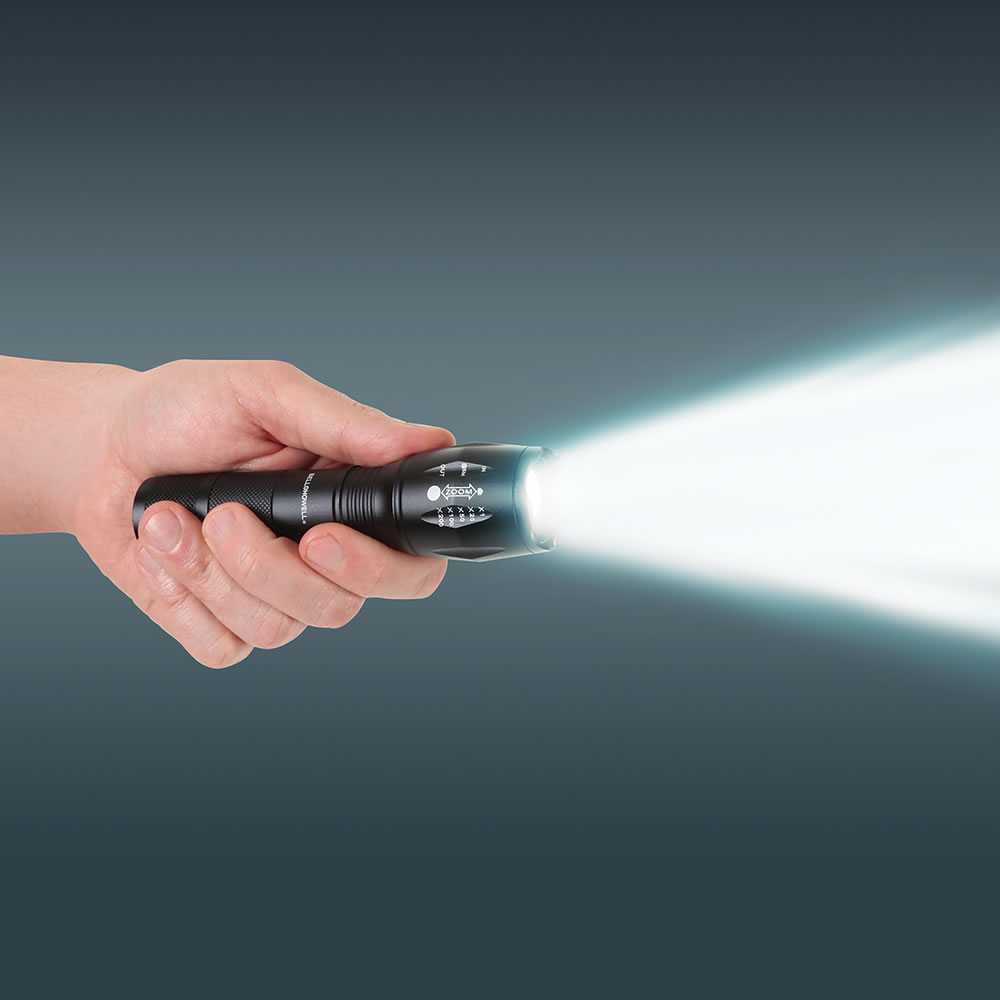 Five Mile Flashlight - Hammacher Schlemmer