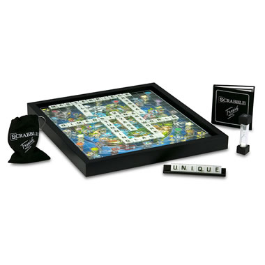 The Pop Art 3D Glass Scrabble.
