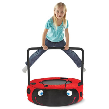 The Plush Ladybug Bouncer