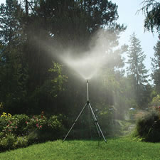 The Gentle Shower Wide Coverage Sprinkler