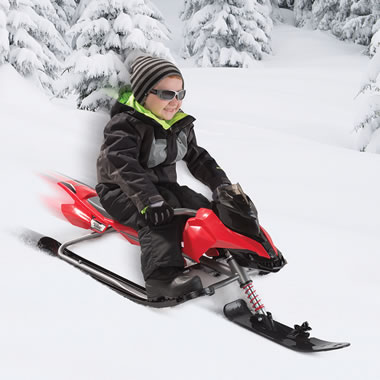 The Snowmobile Sled