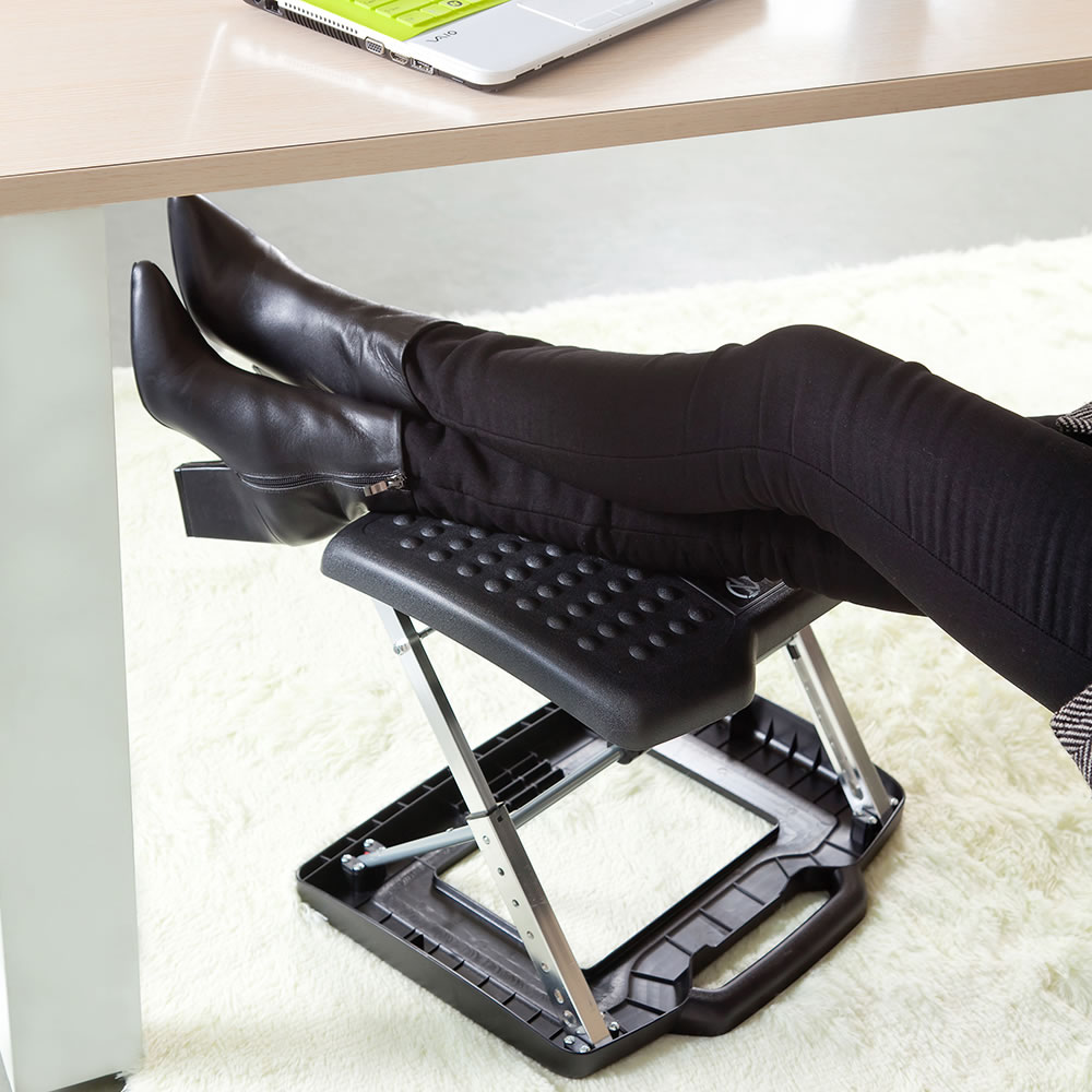 The Adjule Height Portable Foot And Leg Rest