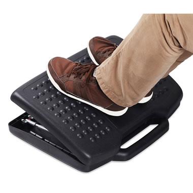 Massaging Ergonomic Foot And Leg Rest