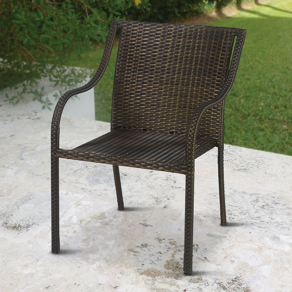 The Stackable Outdoor Wicker Chairs