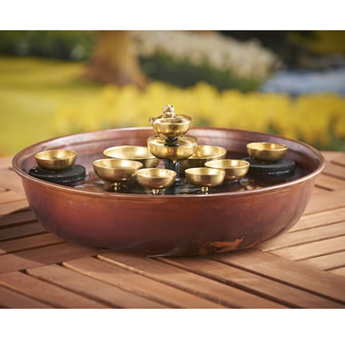 The Water Chime Copper Fountain
