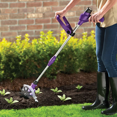 The Lightweight Cordless Power Weeder/Tiller