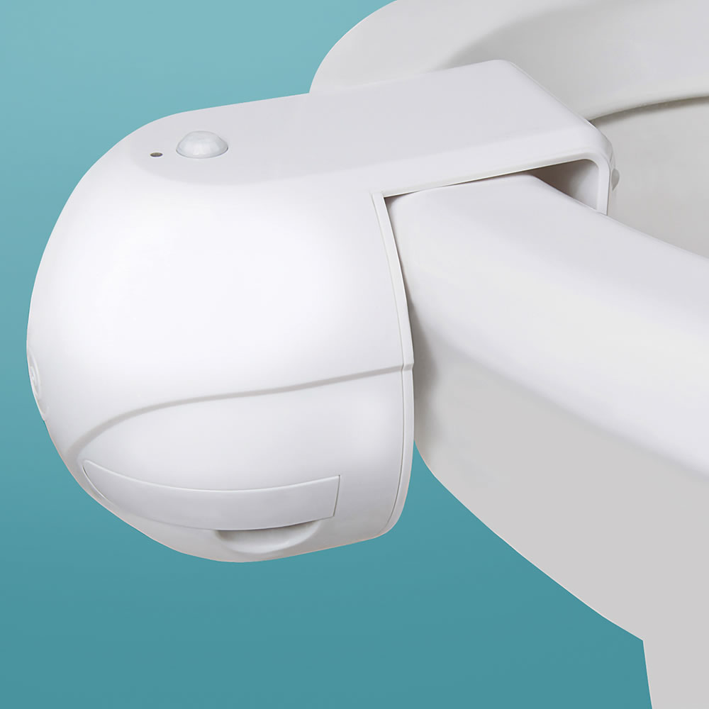 The Motion Sensing Toilet Bowl Odor Eliminator - Hammacher ...