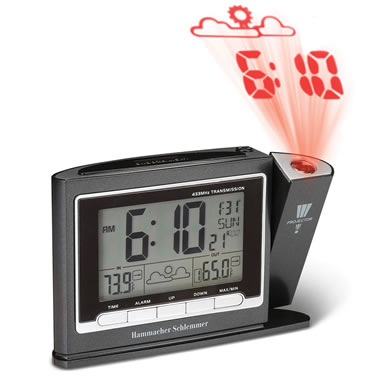 Best Projection Clock Black