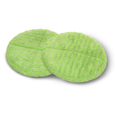 Additonal Polish Pads For Spin Mop Green