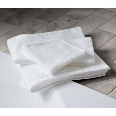 Japanese Organic Cotton Bath Towel Whi