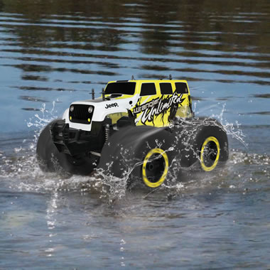 The Rc Stunt Monster Truck Hammacher Schlemmer