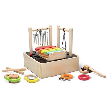 The 8 In 1 Wooden Percussion Ensemble